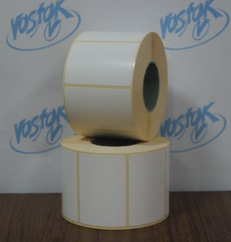 Thermal label 58 mm x 40 mm