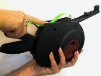 инструкция как вставить ленту в этикет пистолет