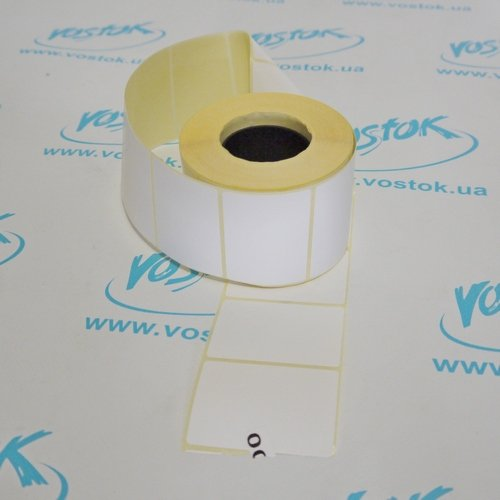 Thermal label 58x40 mm, 700 pieces, TOP