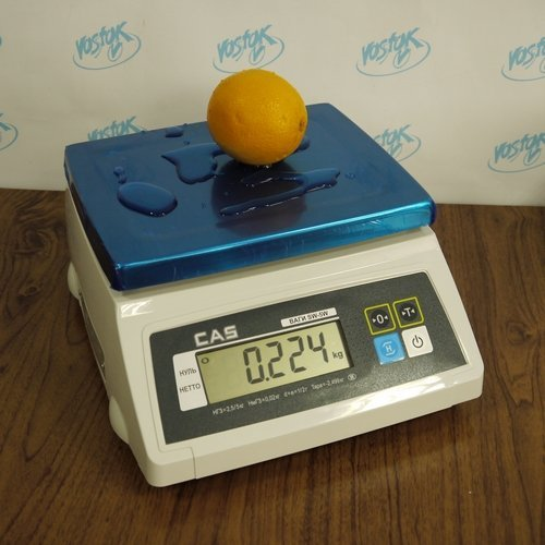 Packaging scales for simple weighing CAS SW-5W