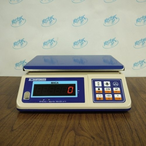Packaging scales ВТНЕ-6Н1-1
