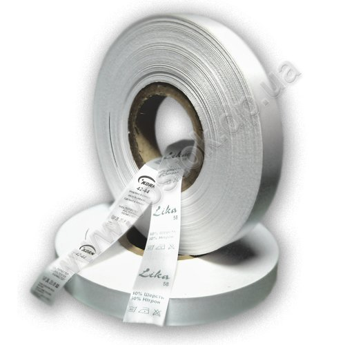 Textile polyether-sateen ribbon 25 mm x 200 m