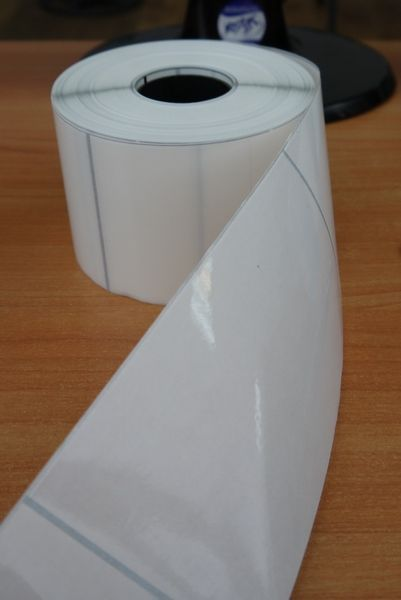Transparent self-adhesive polypropylene